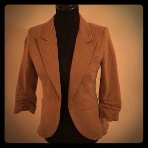 3/4 Sleeve Tan Blazer from ModCloth.